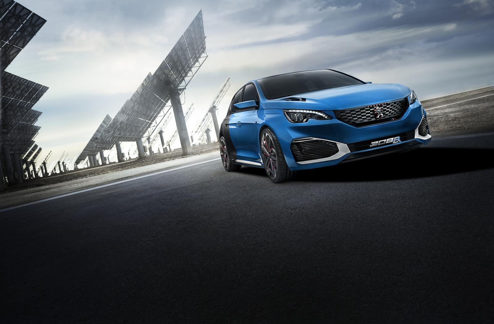 Peugeot 308 R Hybrid: 500 CV de potencia... y además, híbrido 2
