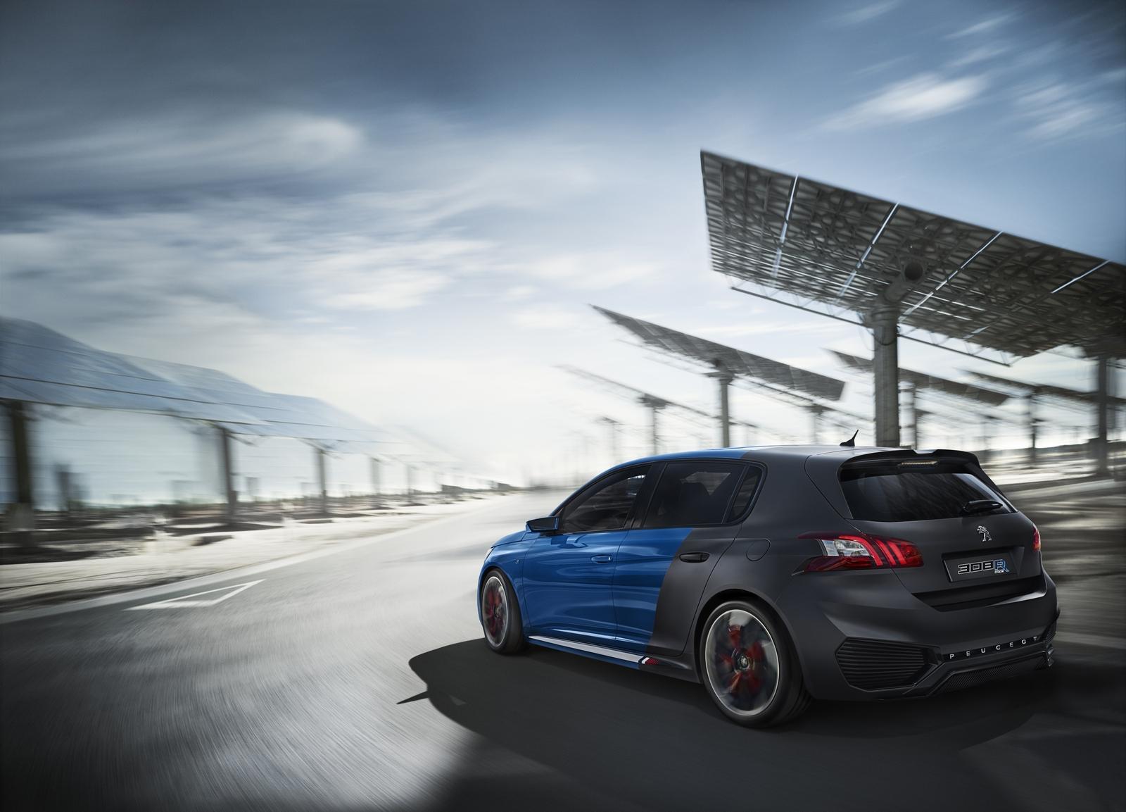 Peugeot 308 R Hybrid: 500 CV de potencia... y además, híbrido 3