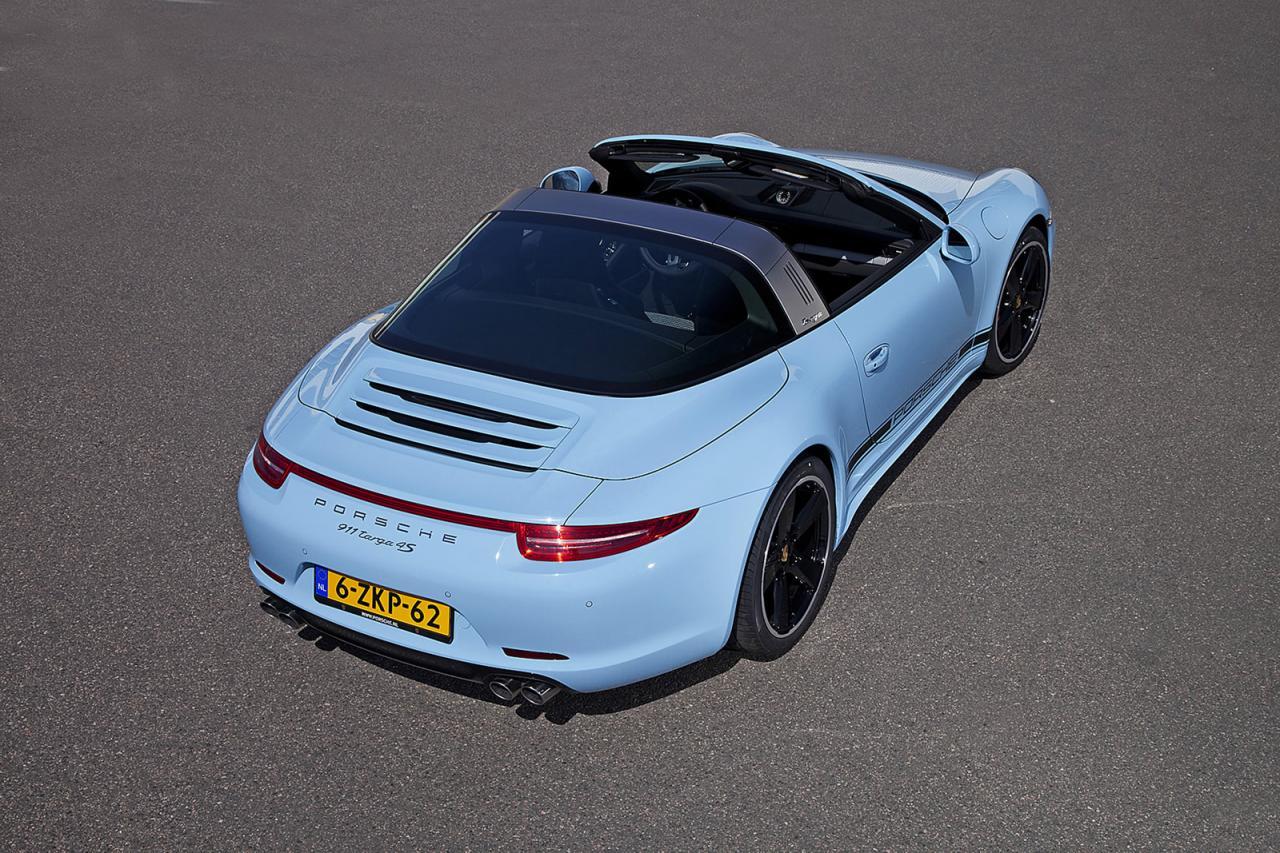 Porsche 911 Targa 4S Exclusive Edition, el Targa más exclusivo de Stuttgart 3