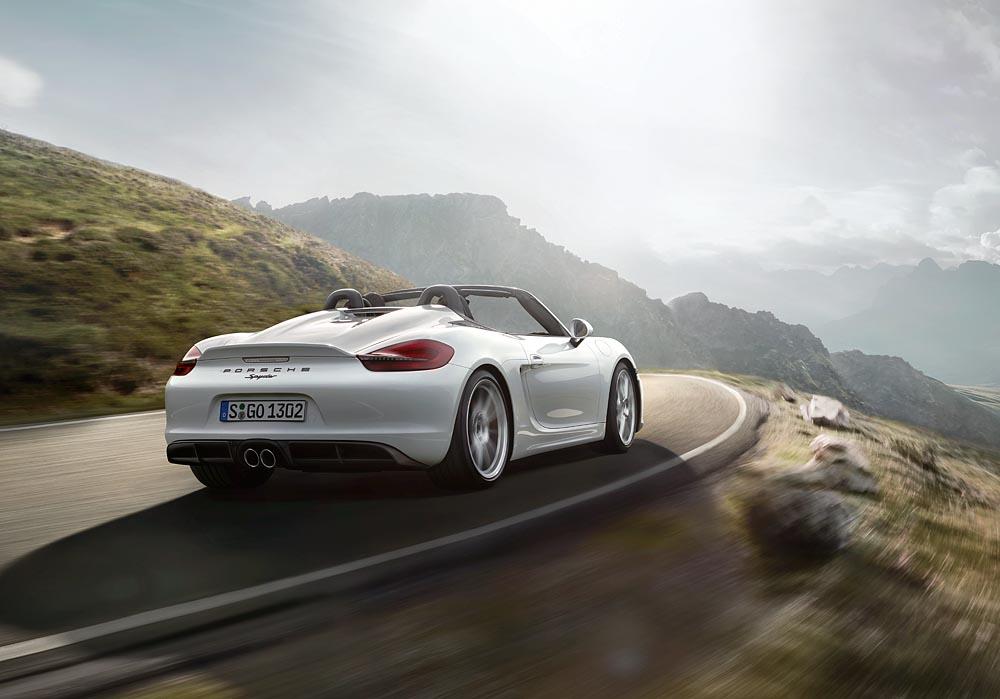 Porsche Boxster Spyder: 375 CV de puro disfrute con el cielo como techo 2