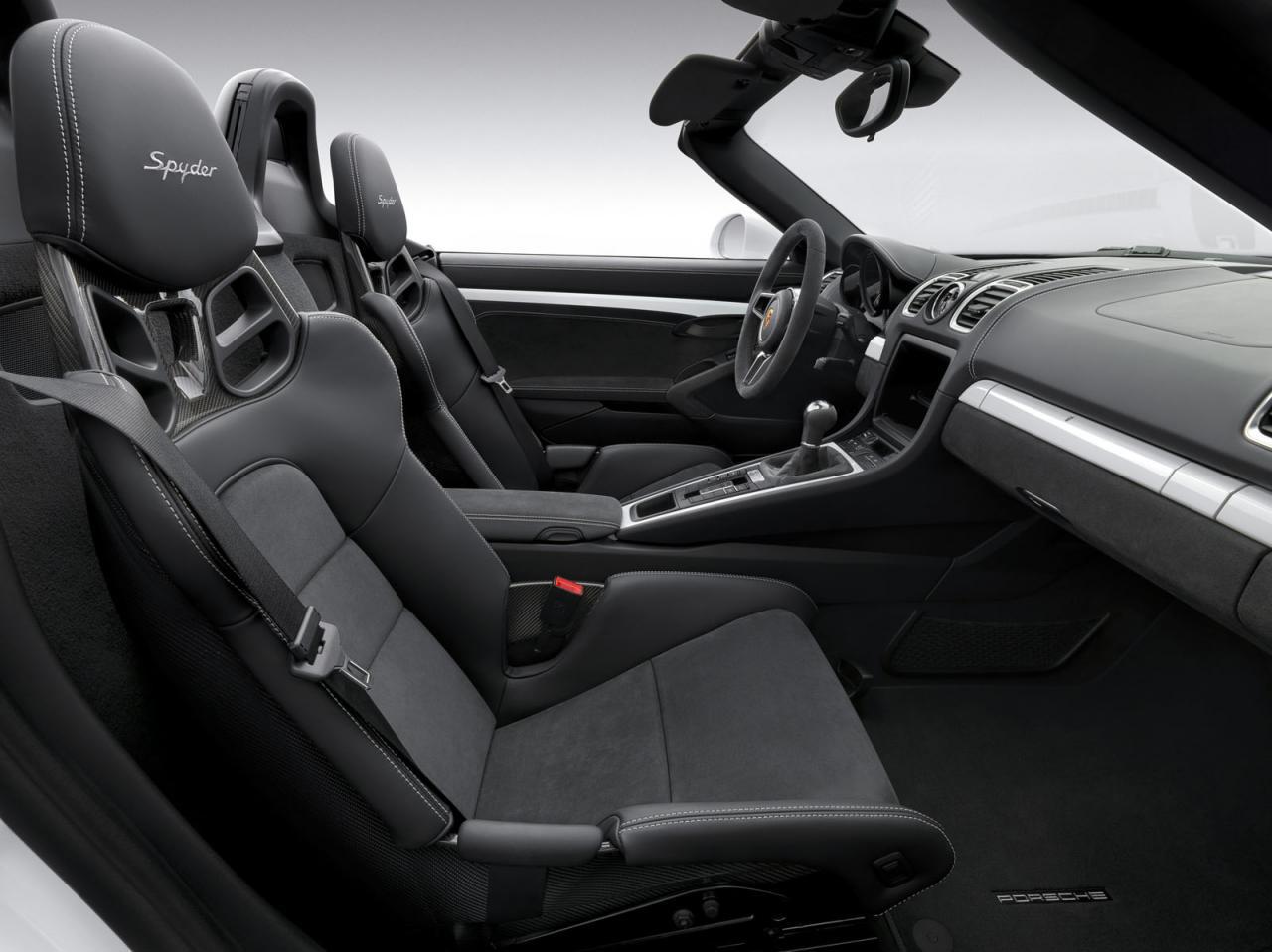 Porsche Boxster Spyder, información y datos del Boxster más radical 3
