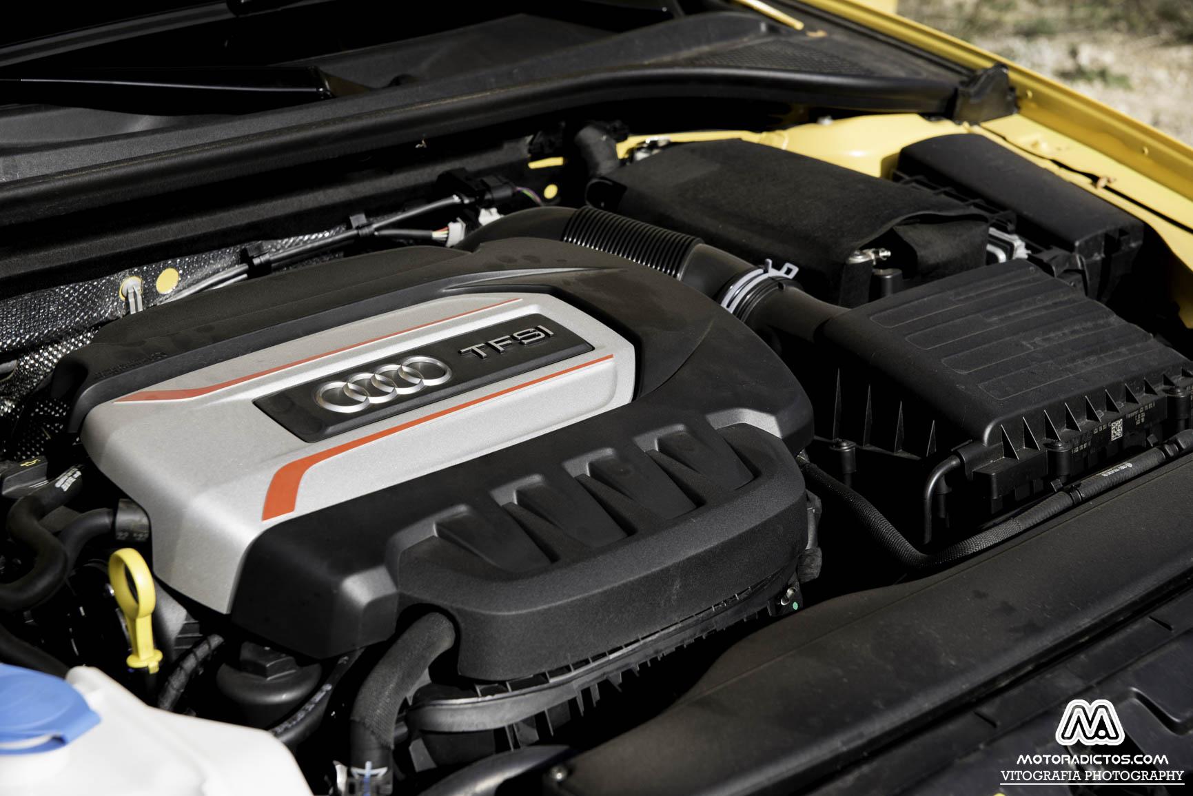 Prueba: Audi S3 Sportback 2.0 TFSI Quattro (diseño, habitáculo, mecánica) 4