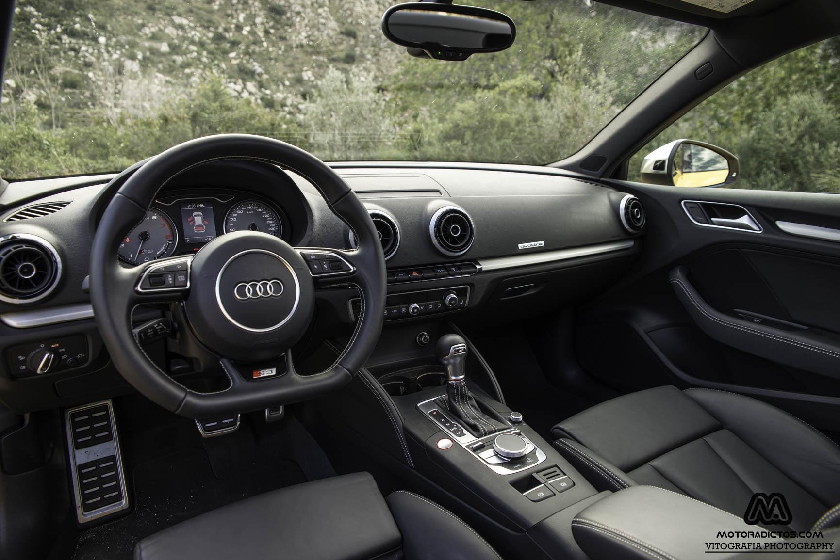 Prueba: Audi S3 Sportback 2.0 TFSI Quattro (diseño, habitáculo, mecánica) 5