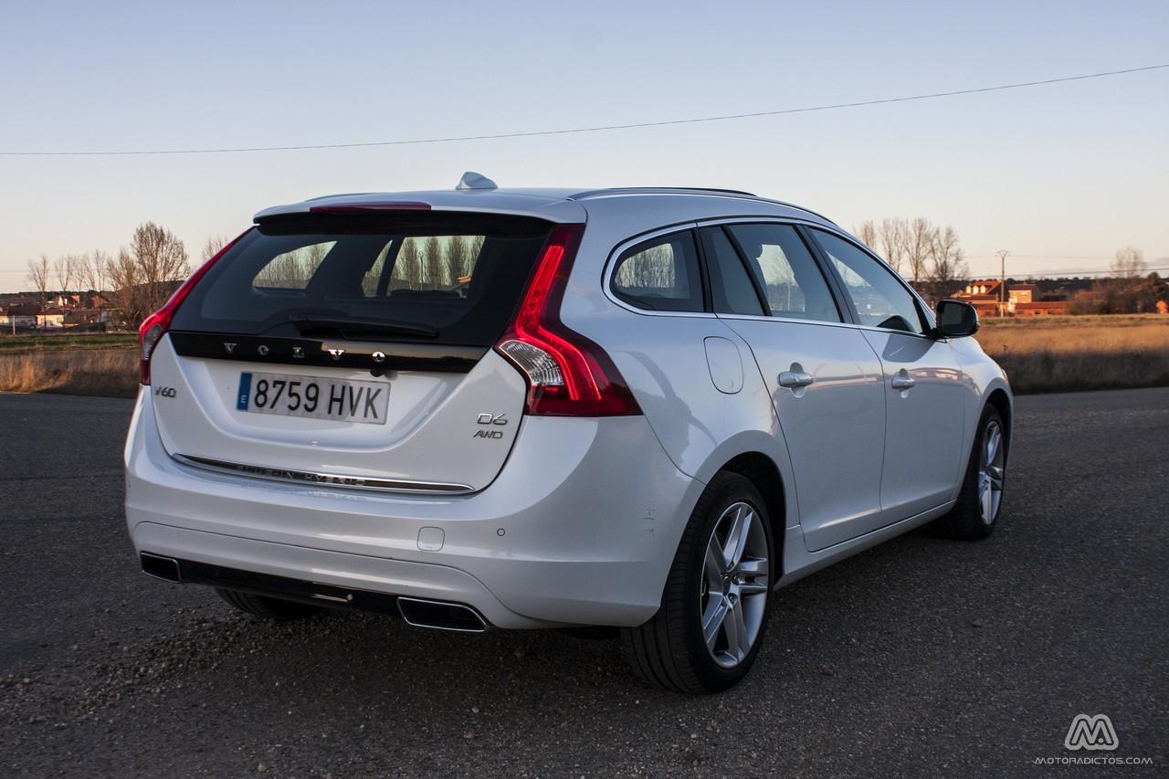 Prueba: Volvo V60 Plug-In Hybrid AWD (equipamiento, comportamiento, conclusión) 7