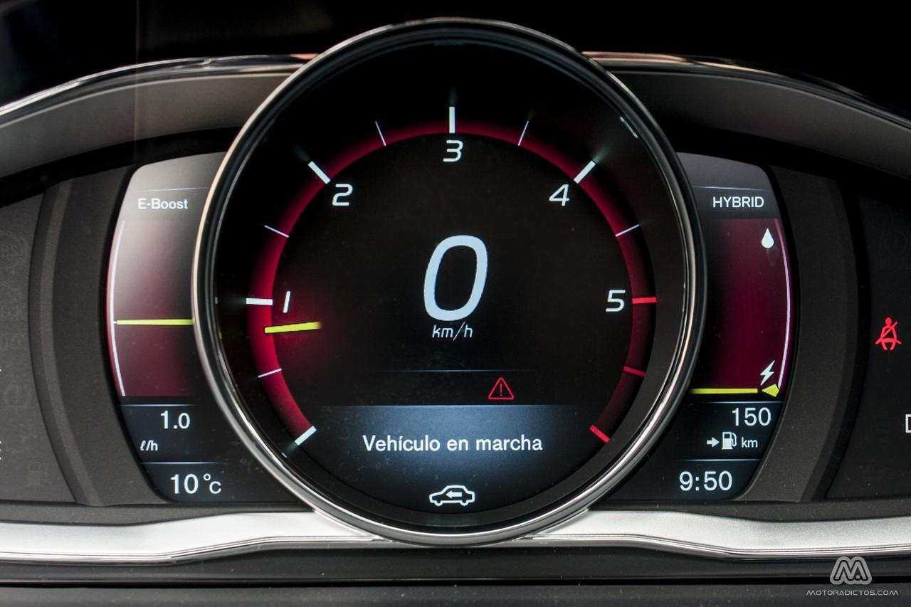 Prueba: Volvo V60 Plug-In Hybrid (diseño, habitáculo, mecánica) 7