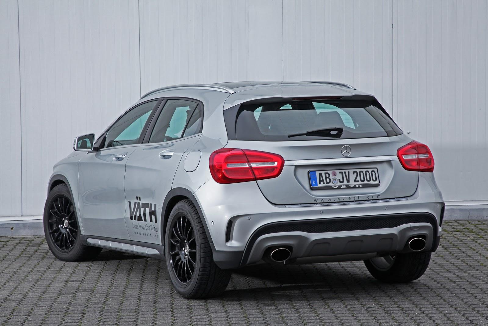 Väth Mercedes GLA 200: El chispazo adicional que estabas esperando 2
