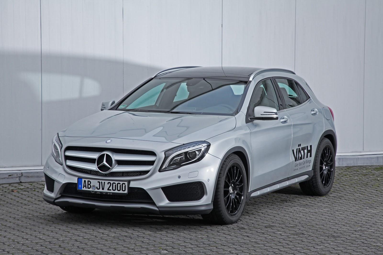 Väth Mercedes GLA 200: El chispazo adicional que estabas esperando 3
