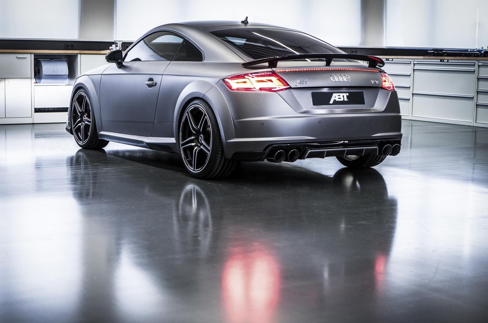 ABT vuelve a repasar el Audi TT: 310 CV y gris mate 2