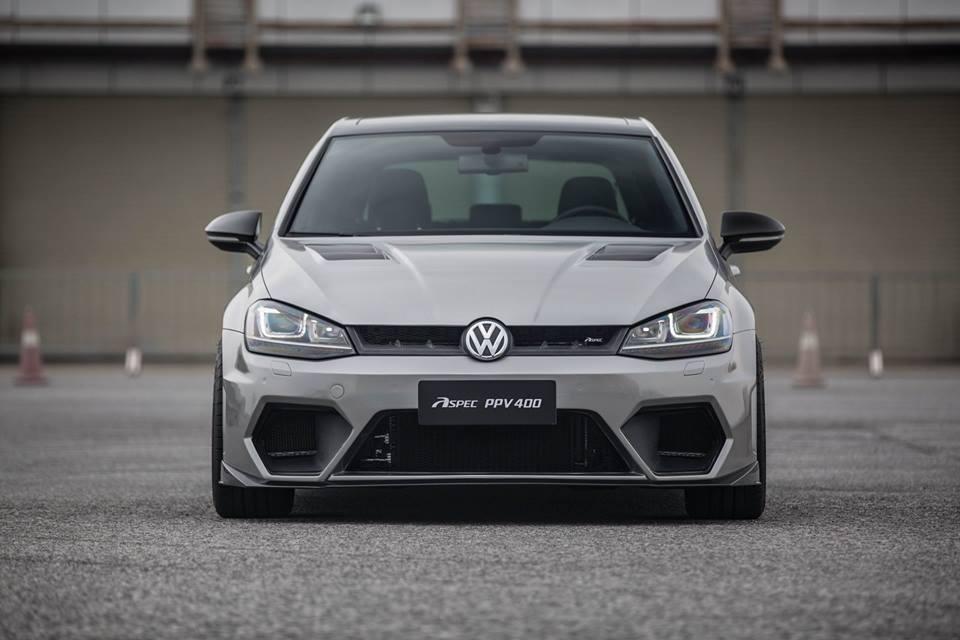 ASPEC PPV400: Un Volkswagen Golf R con 400 CV desde China, la antesala del Golf R400 2