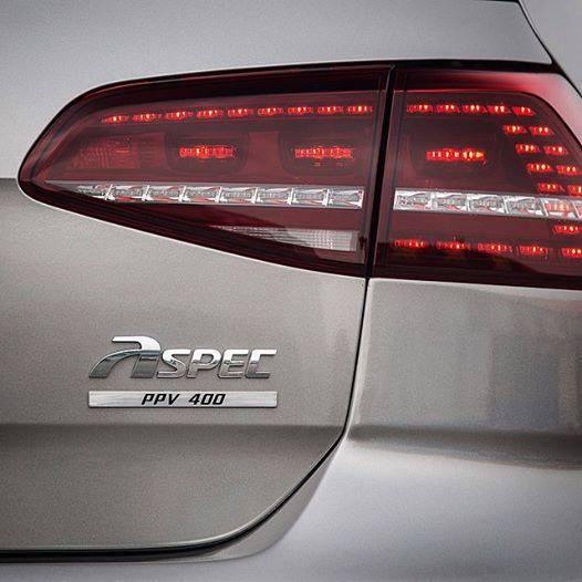 ASPEC PPV400: Un Volkswagen Golf R con 400 CV desde China, la antesala del Golf R400 4
