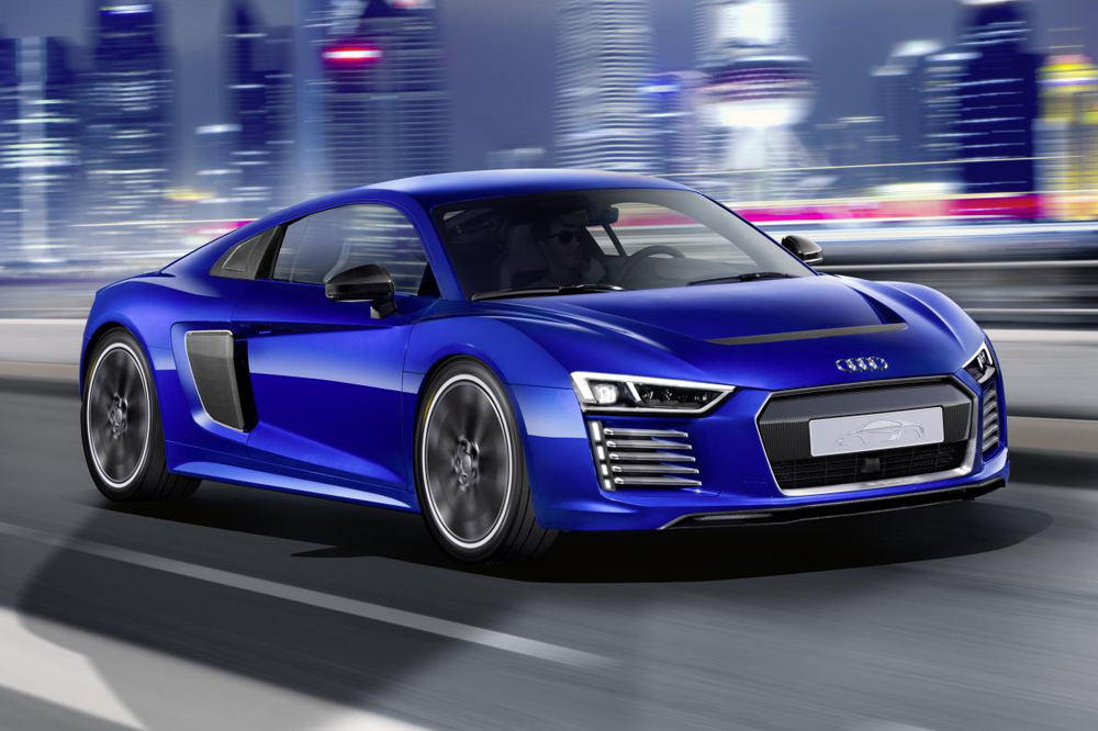 Audi R8 e-tron Piloted Driving Concept: La conducción autónoma sobre el R8 1