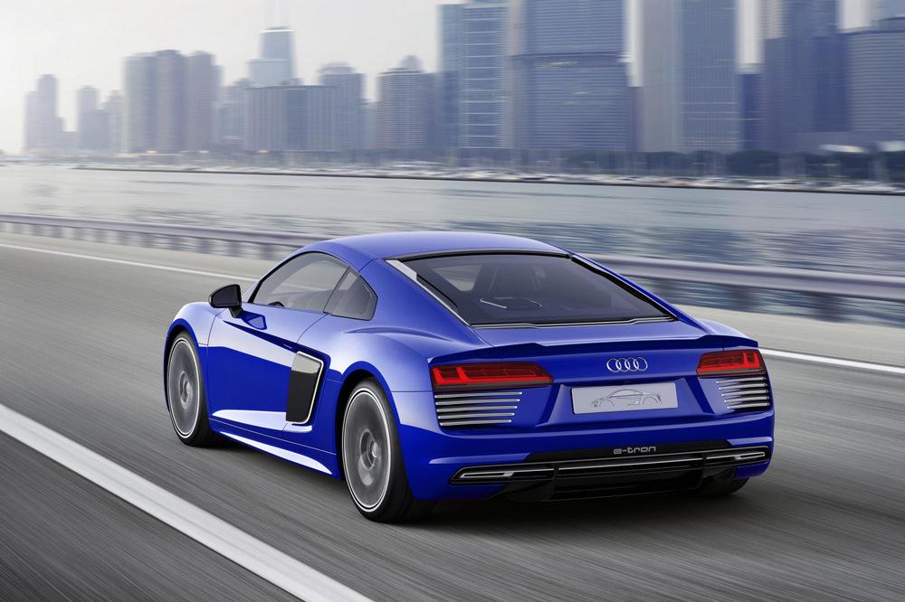 Audi R8 e-tron Piloted Driving Concept: La conducción autónoma sobre el R8 2