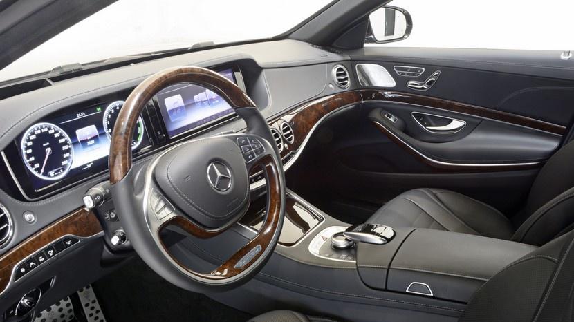 Brabus Mercedes S500 plugin hybrid: 500 CV y 890 Nm de par 4