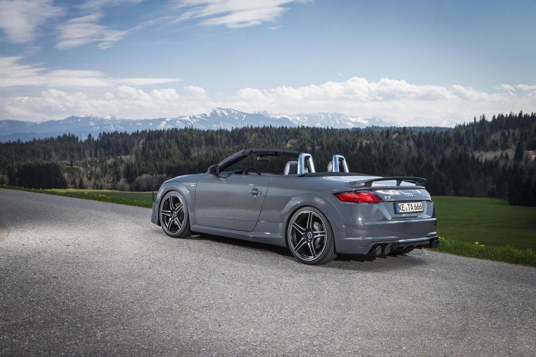 El Audi TT Roadster de ABT llega con 310 CV y una estética más deportiva 2