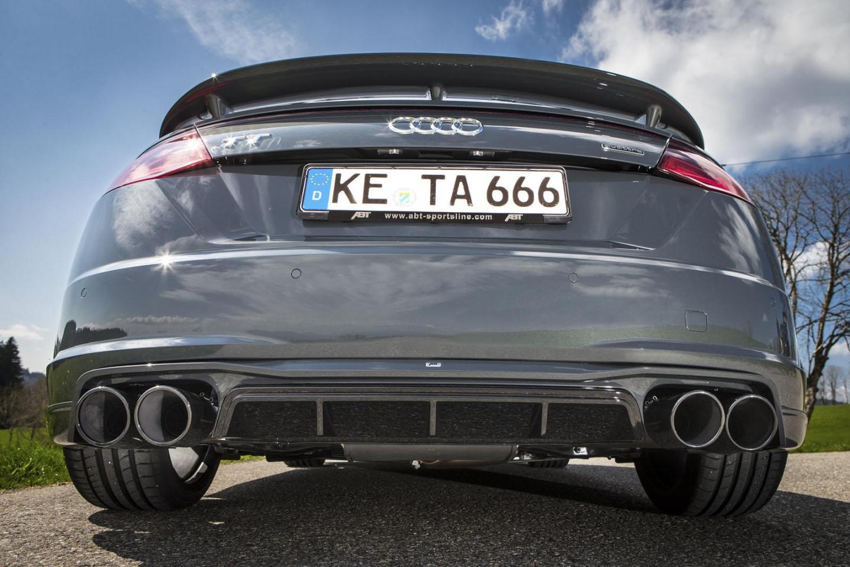 El Audi TT Roadster de ABT llega con 310 CV y una estética más deportiva 3