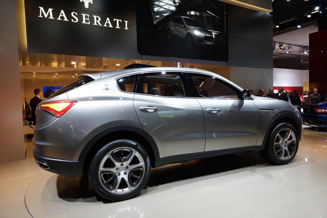 El Maserati Levante debutará en Detroit, en abril llegará a España 1