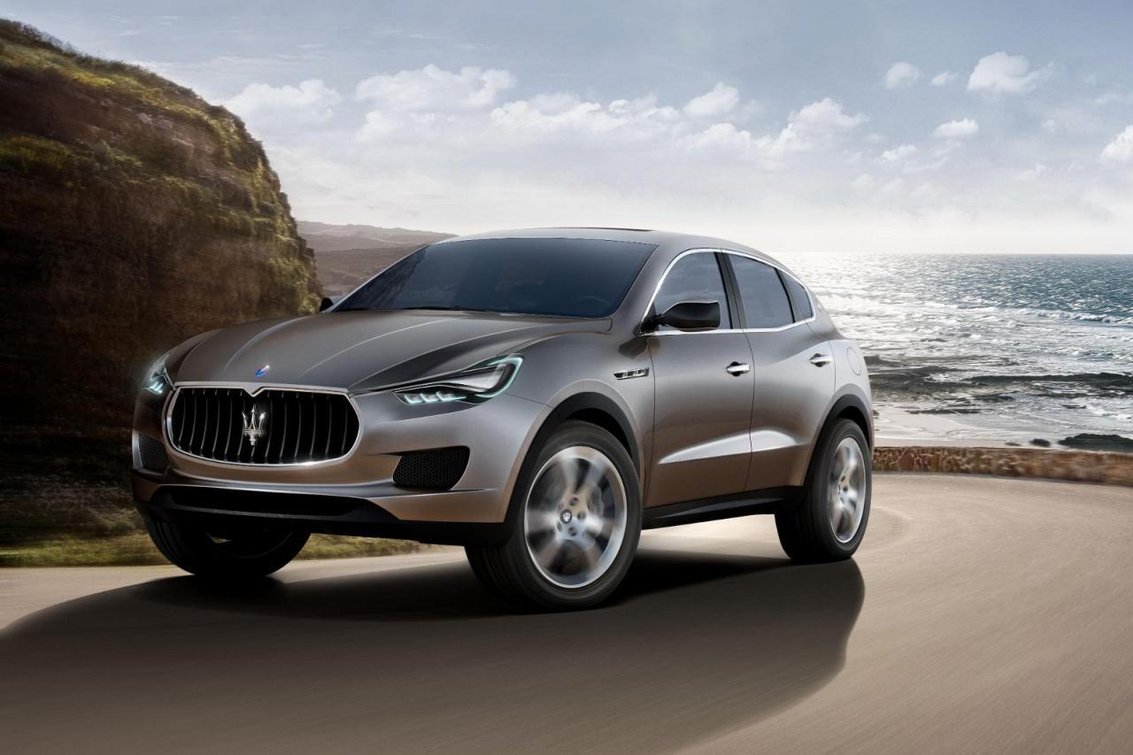 El Maserati Levante debutará en Detroit, en abril llegará a España 2