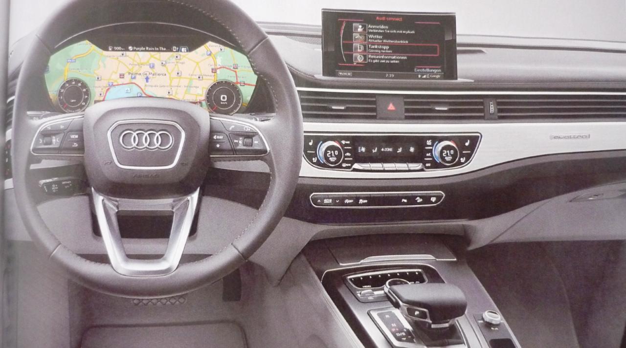 El nuevo Audi A4 será presentado este verano, y tendrá este aspecto 1