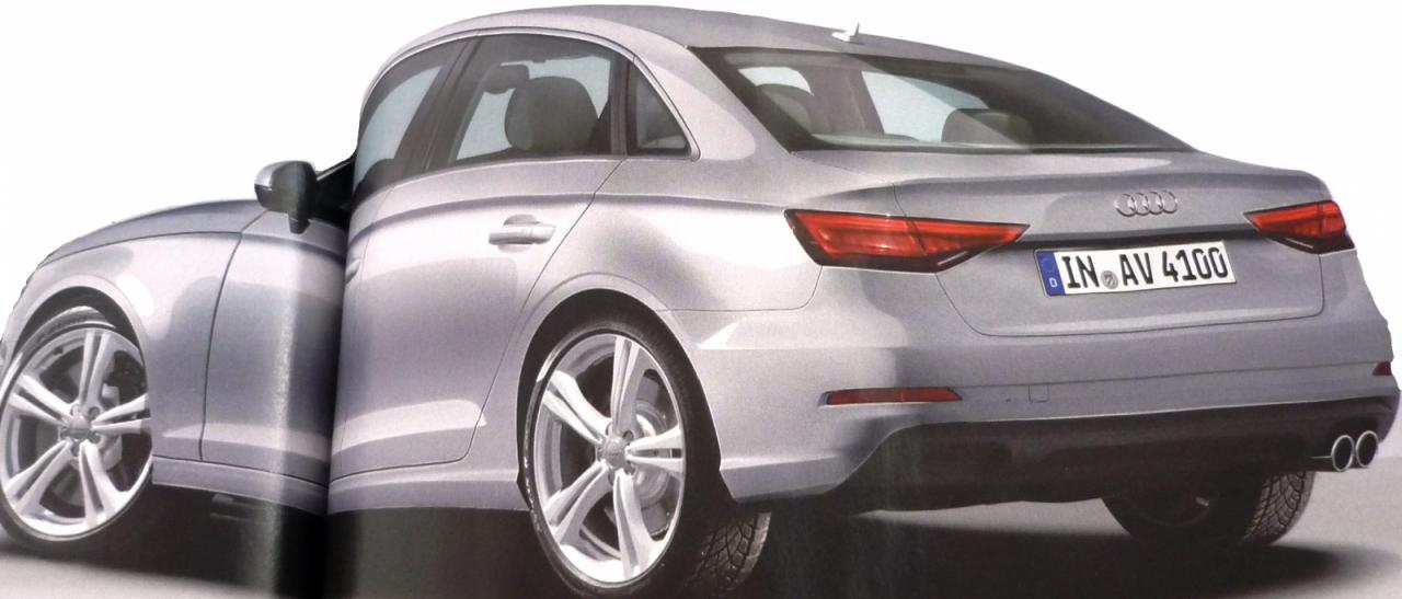 El nuevo Audi A4 será presentado este verano, y tendrá este aspecto 2