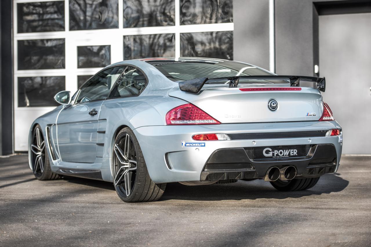 G-Power presenta su preparación más potente, es un BMW M6 E36 y desarrolla 1.001 caballos 4