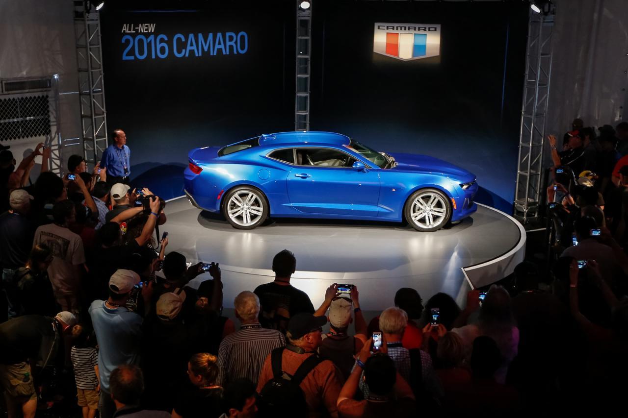 Oficial: 2016 Chevrolet Camaro, con motor de 4 cilindros y 455 caballos en la versión V8 SS 5