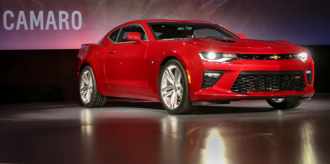 Oficial: 2016 Chevrolet Camaro, con motor de 4 cilindros y 455 caballos en la versión V8 SS 6
