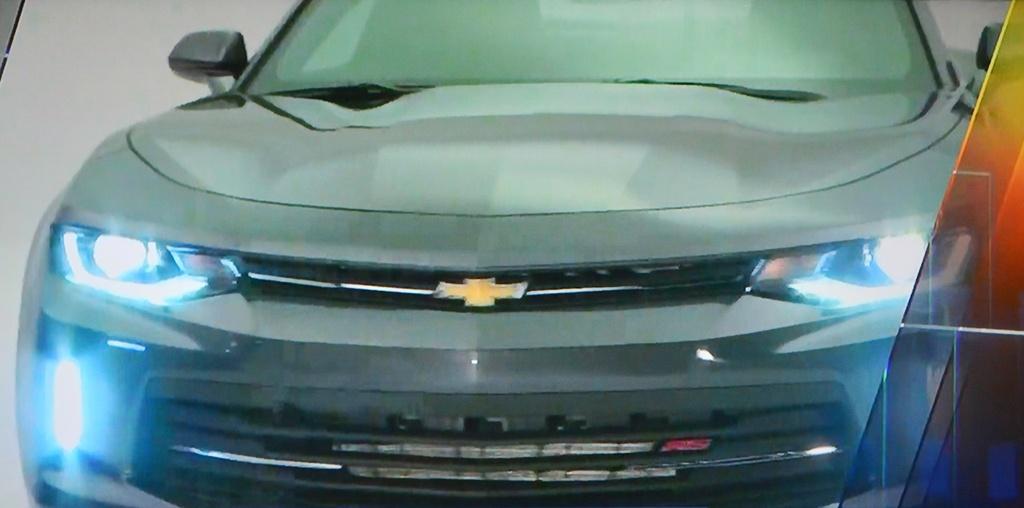 Primeras imágenes del nuevo Chevrolet Camaro 1