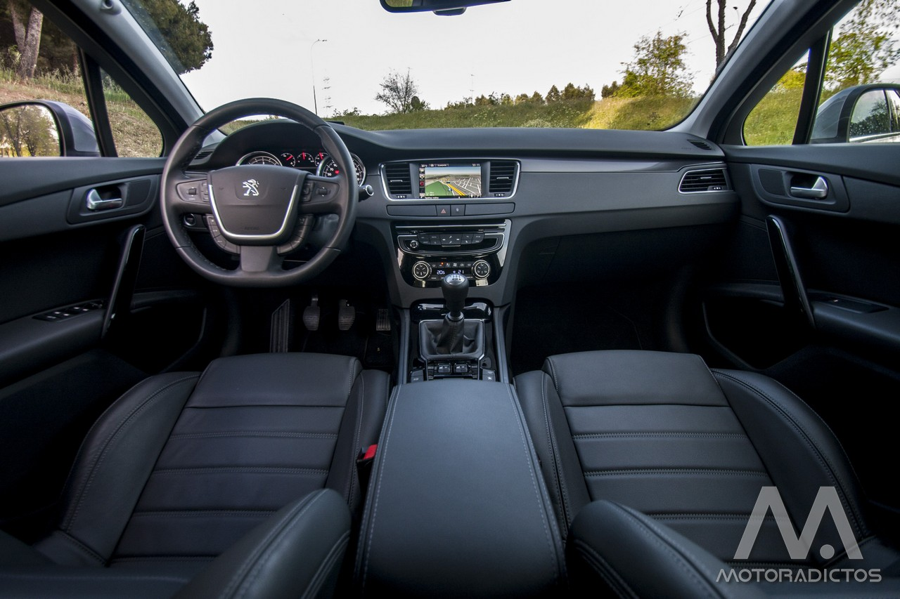 Prueba: Peugeot 508 BlueHDI 150 CV  (diseño, habitáculo, mecánica) 4
