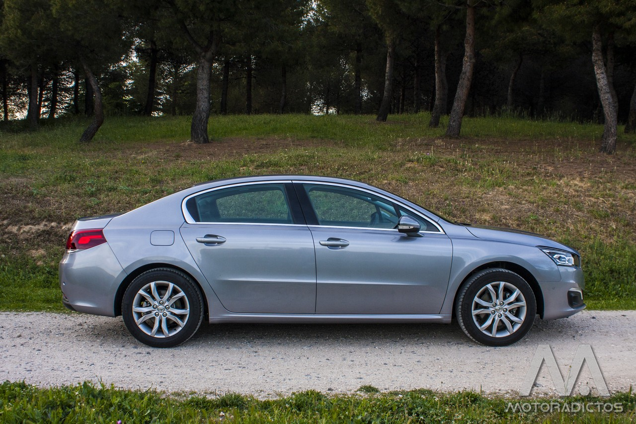 Prueba: Peugeot 508 BlueHDI 150 CV  (diseño, habitáculo, mecánica) 5