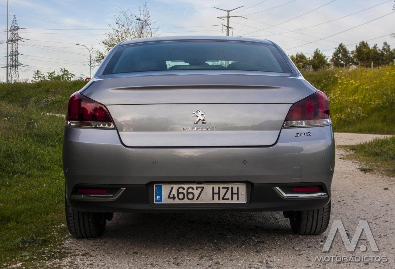 Prueba: Peugeot 508 BlueHDI 150 CV  (diseño, habitáculo, mecánica) 6
