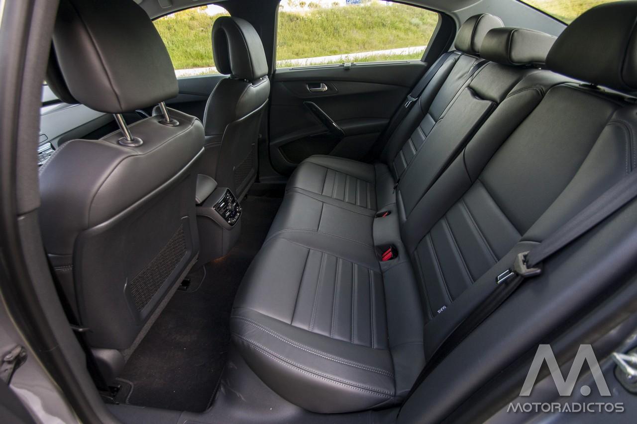Prueba: Peugeot 508 BlueHDI 150 CV  (diseño, habitáculo, mecánica) 8