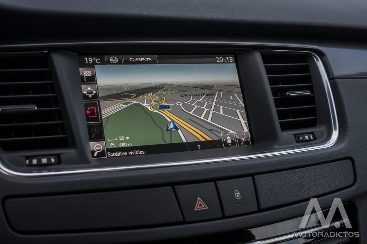 Prueba: Peugeot 508 BlueHDI 150 CV  (diseño, habitáculo, mecánica) 9