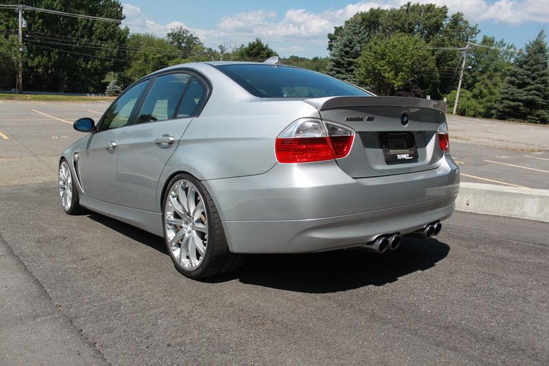 Sale a la venta uno de los 10 Hartge H50: Un BMW Serie 3 con el V10 del M5 E60 2