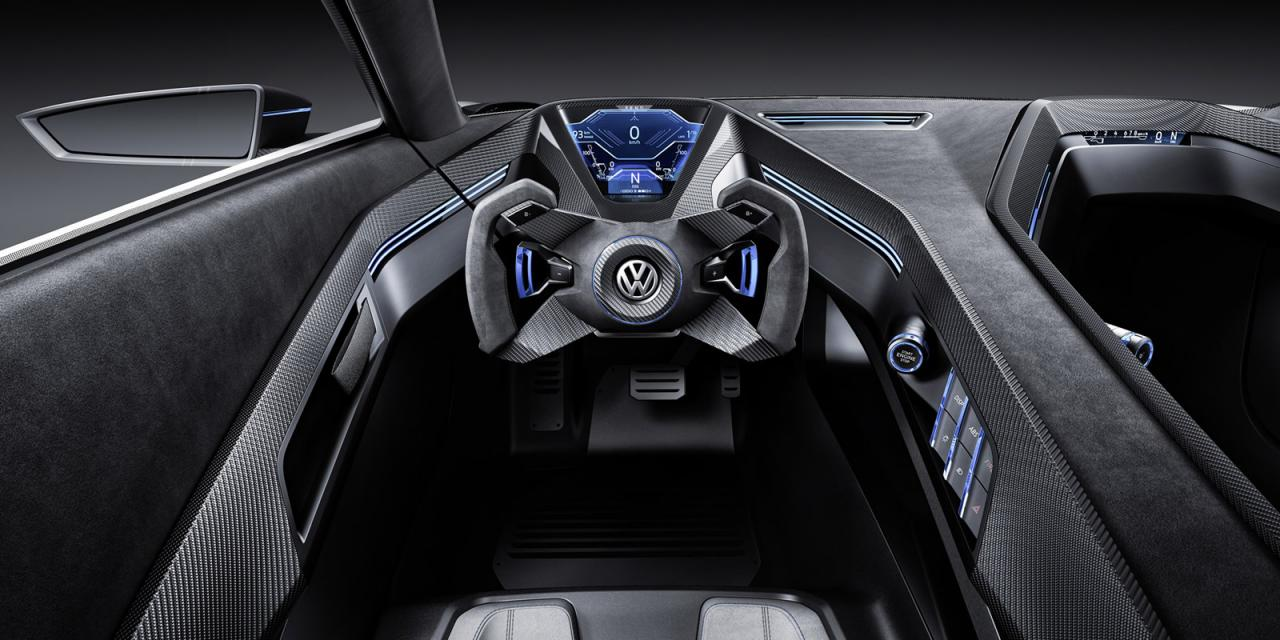 """Volkswagen Golf GTE Sport, el prototipo más """"Scirocco"""" e híbrido del Golf 2"""