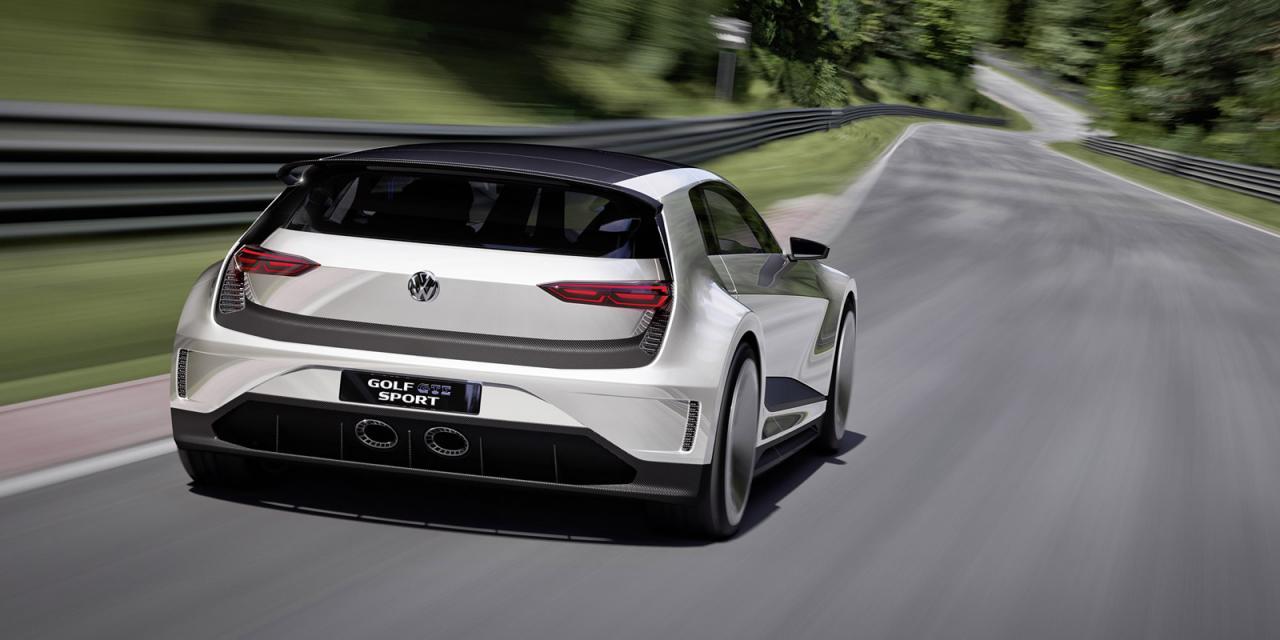 """Volkswagen Golf GTE Sport, el prototipo más """"Scirocco"""" e híbrido del Golf 3"""
