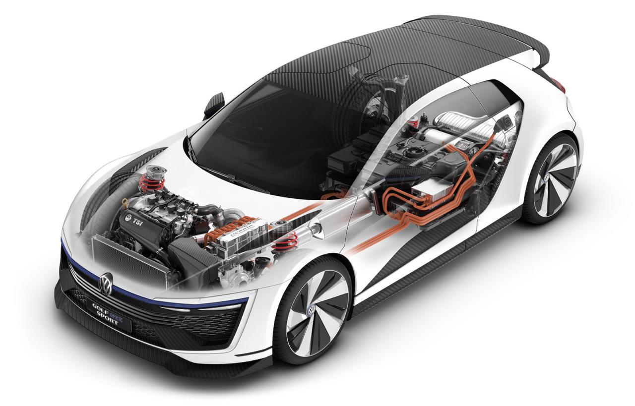 """Volkswagen Golf GTE Sport, el prototipo más """"Scirocco"""" e híbrido del Golf 4"""