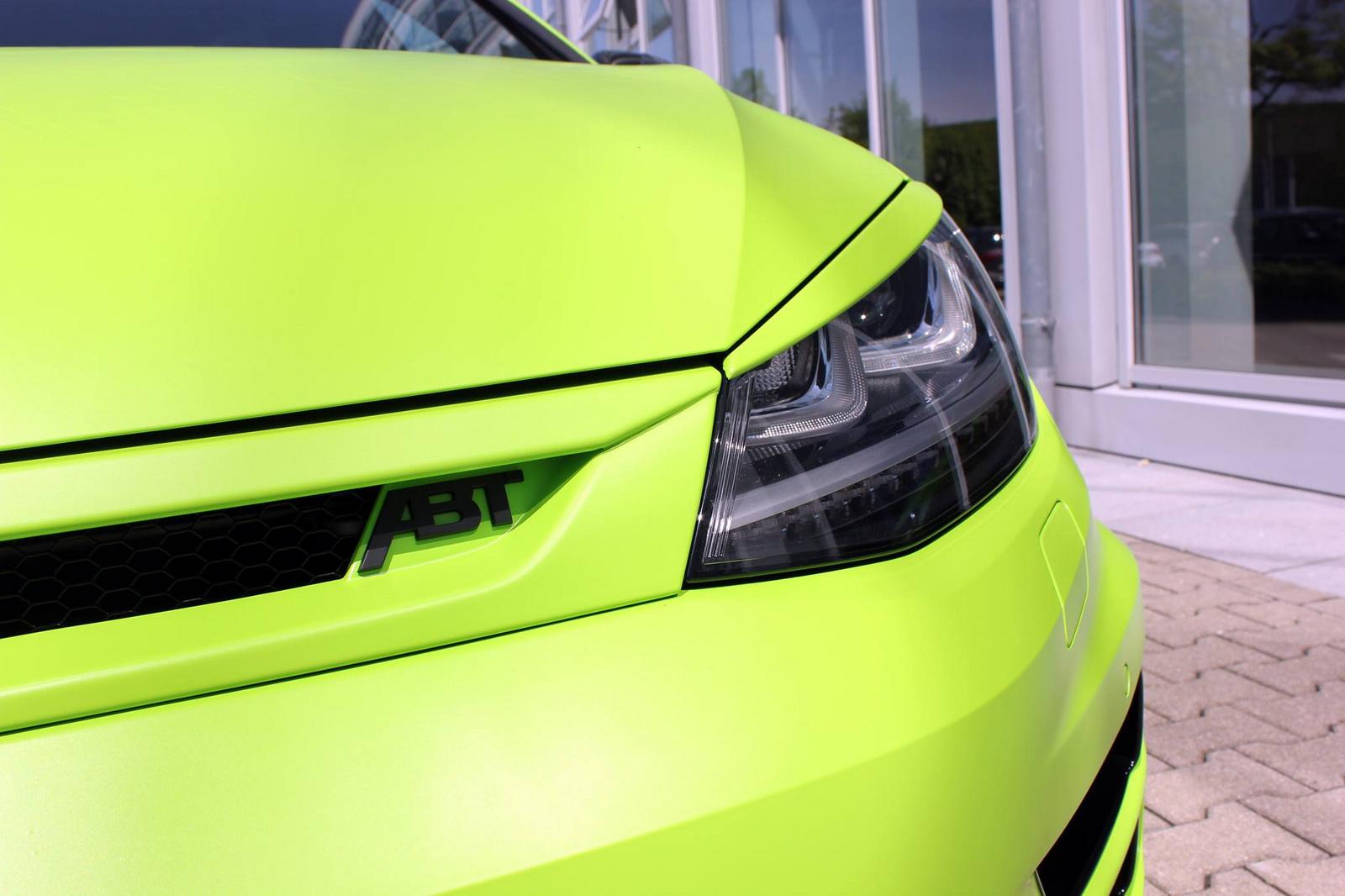 Volkswagen Golf R por ABT: La moda de los 400 CV sobre el Golf 3