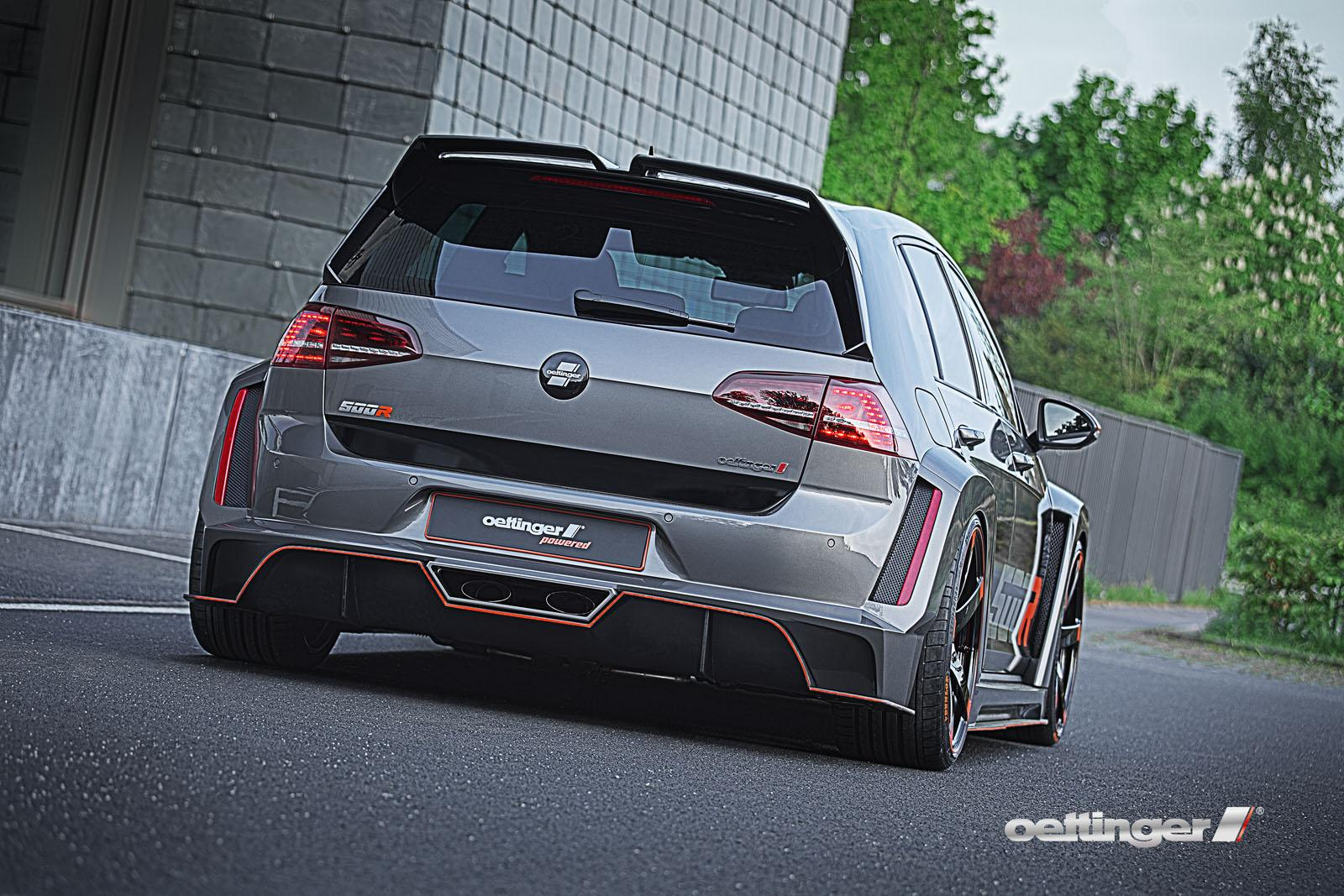 Volkswagen Golf R500 por Oettinger: 500 CV, por si 400 no eran suficientes 3