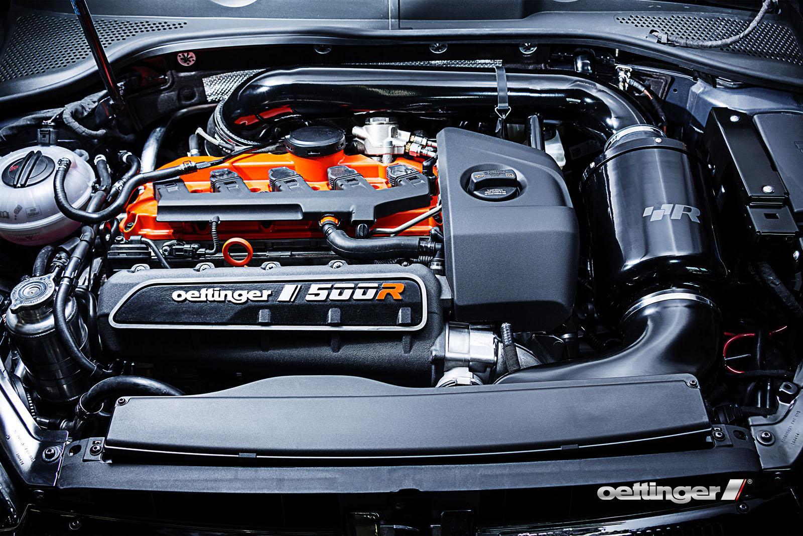 Volkswagen Golf R500 por Oettinger: 500 CV, por si 400 no eran suficientes 6