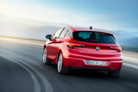Primeras imágenes filtradas del Opel Astra (K) 2016