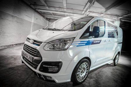 Ford Transit M-Sport: Una furgoneta con un aspecto muy racing