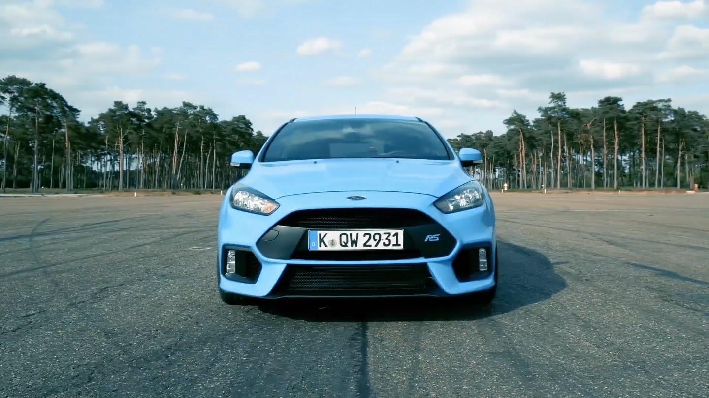Ahora sí: El nuevo Ford Focus RS cuenta con 350 CV y 440 Nm de par