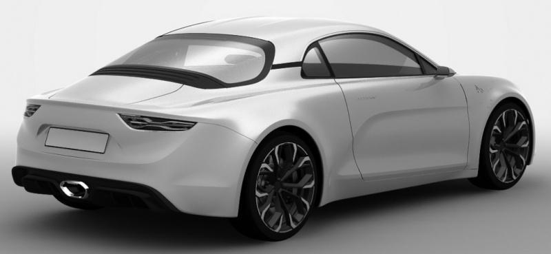 Así es el Renault Alpine AS1 definitivo que llegará a las calles en 2016 2