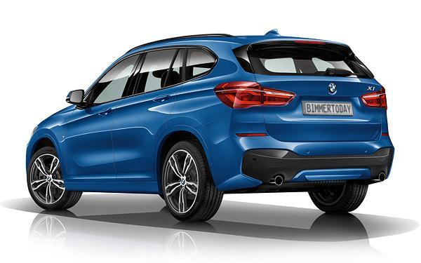 Así luce el BMW X1 con el paquete deportivo M 3