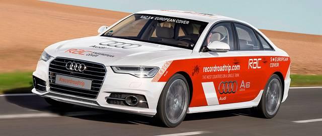 Audi A6 Ultra: Un claro objetivo, batir un récord guiness 2