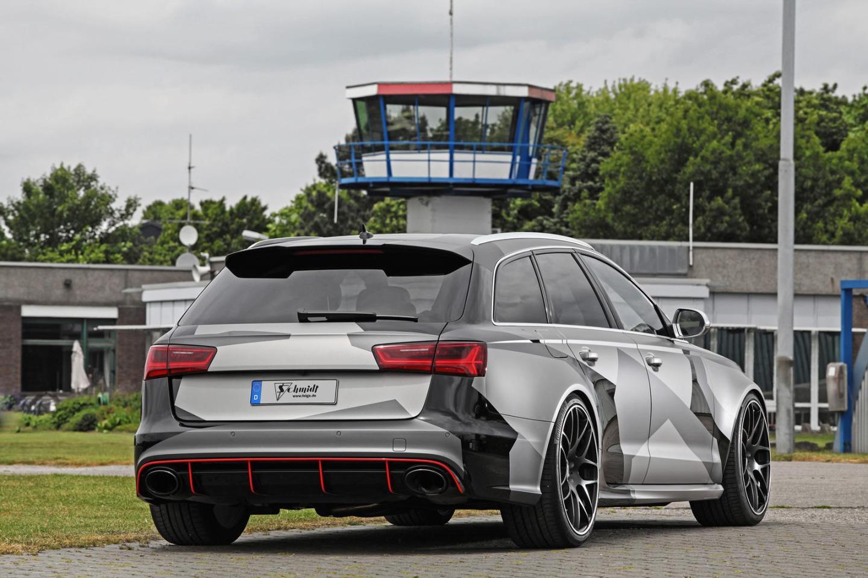 Audi RS6 Avant: 695 de la mano de Schmidt Revolution... ¡330 km/h de velocidad máxima! 1