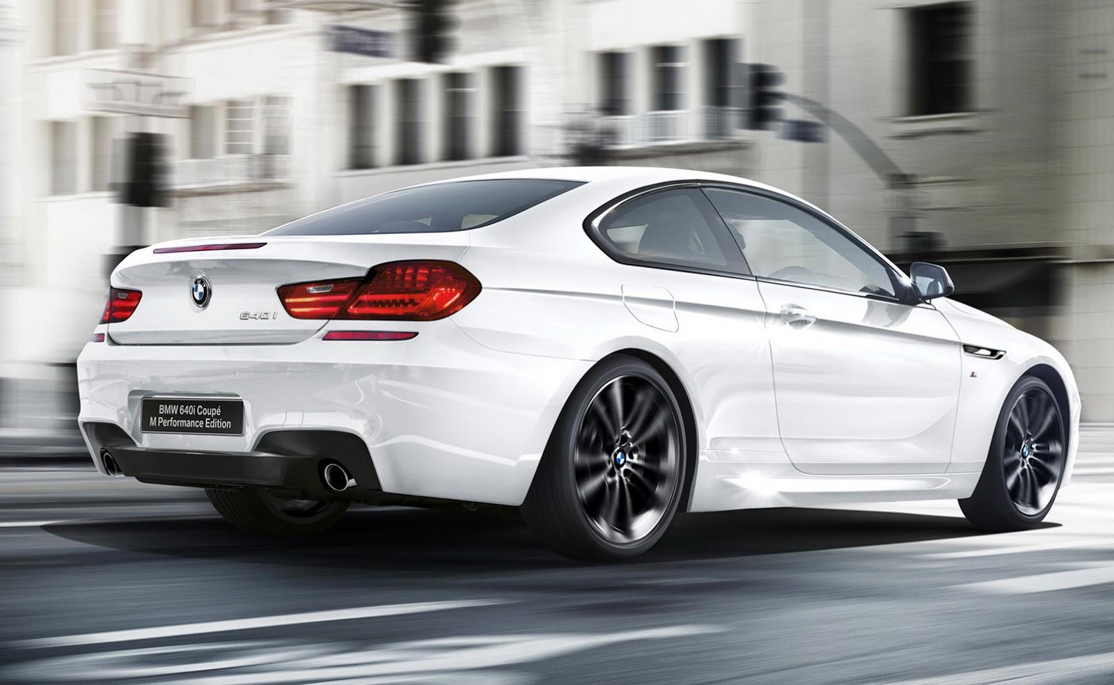 BMW anuncia sólo diez unidades del 640i Coupé M Performance para Japón 1