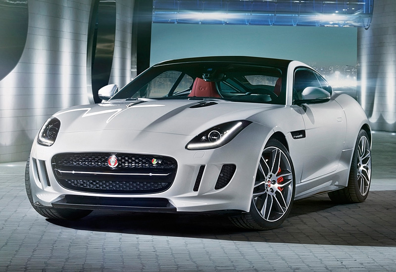 2014 Jaguar F-Type R Coupe; top car design rating and specifications