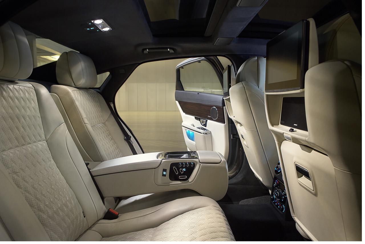 Jaguar XJ 2016: La berlina top de Jaguar se pone al día 2