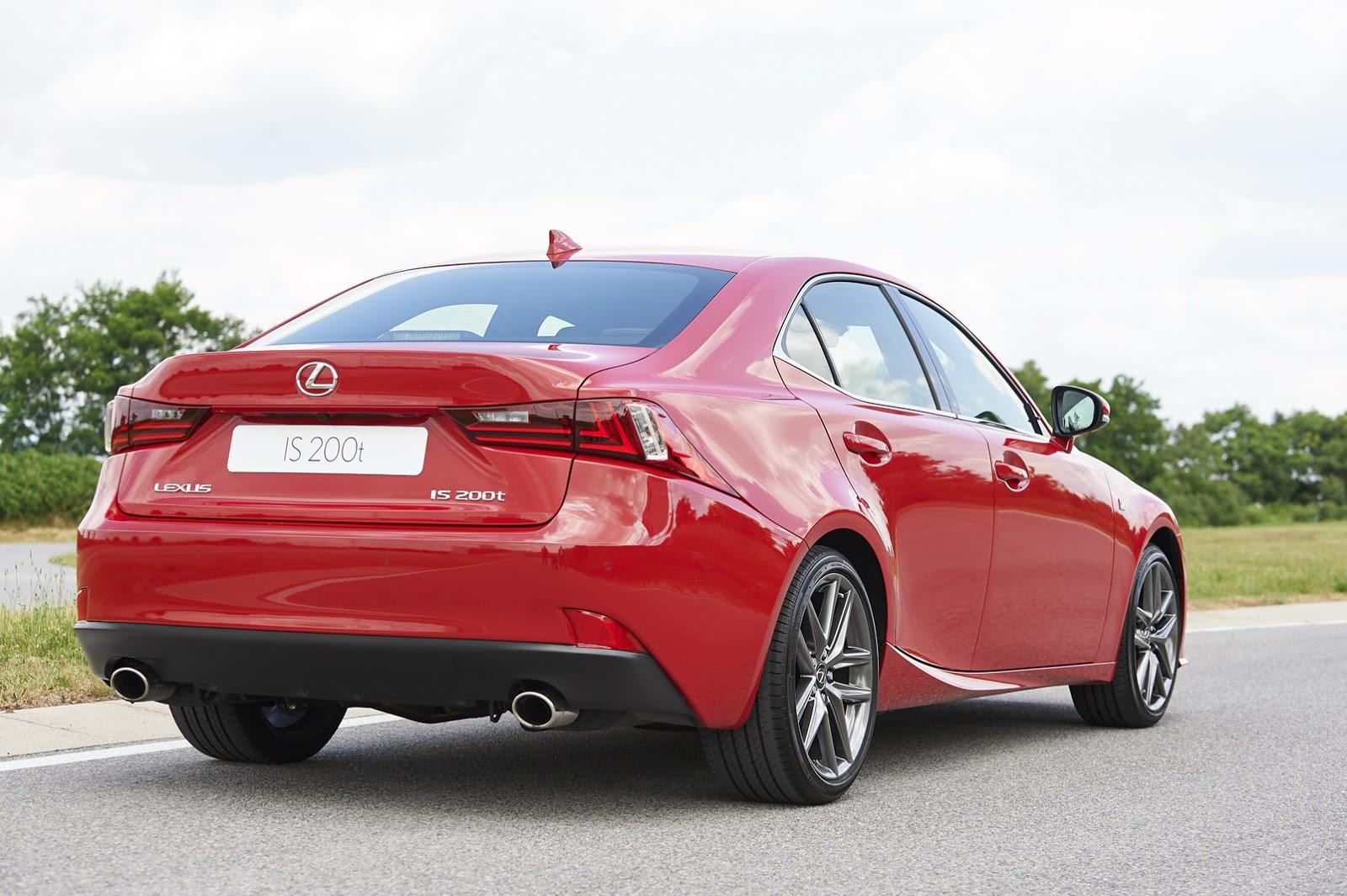 Lexus IS 200t: 245 CV sobrealimentados, por si no te convence la hibridación 2